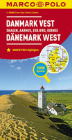 Dänemark West 1:200.000 - Marco Polo Autokarte