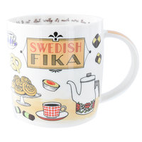 Mugg Swedish Fika - Kaffeebecher