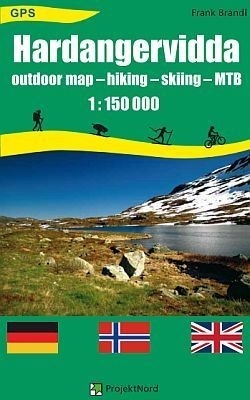 Hardangervidda Outdoor map