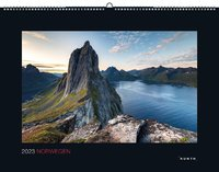 Norwegen Kalender 2021 - 45 x 60 - Black Edition - Kunth