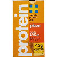 Vilmas Swedish Protein Deli Pizza-Crackers - 60 g