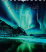 Northern Lights - Kalender 2022 - 30 x 33,5 cm - Aune